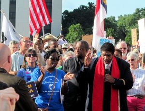 More details Rev. Dr. William Barber speaking at a Moral Monday rally