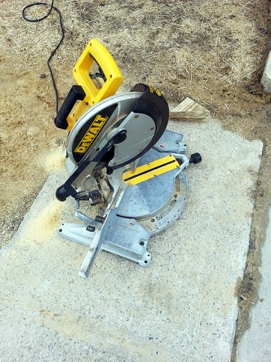 I love our miter saw!