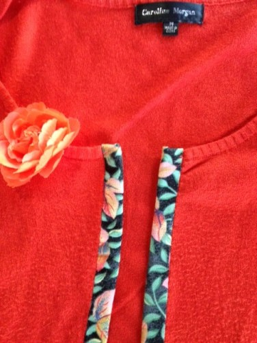 Orange jumper 8