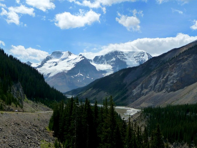 The Icefields Parkway - Banff to Jasper, it was all like this