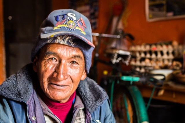 Felipe, one of many Yungas characters I took tea with