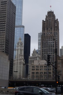 Towards the Wrigley Building