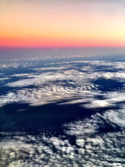 Swirls of Clouds.