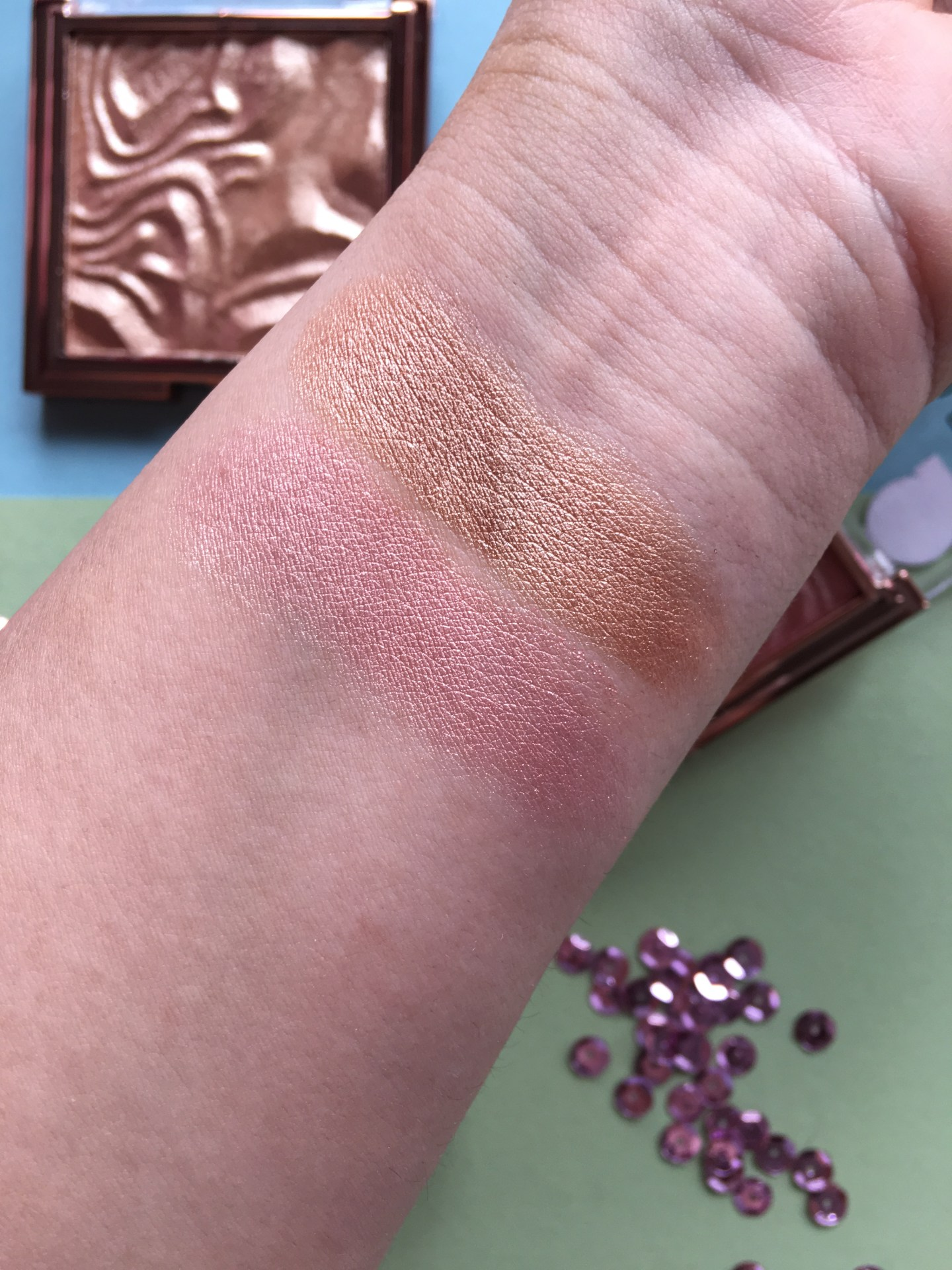 Primark PS Pure Glow Highlighter Swatches