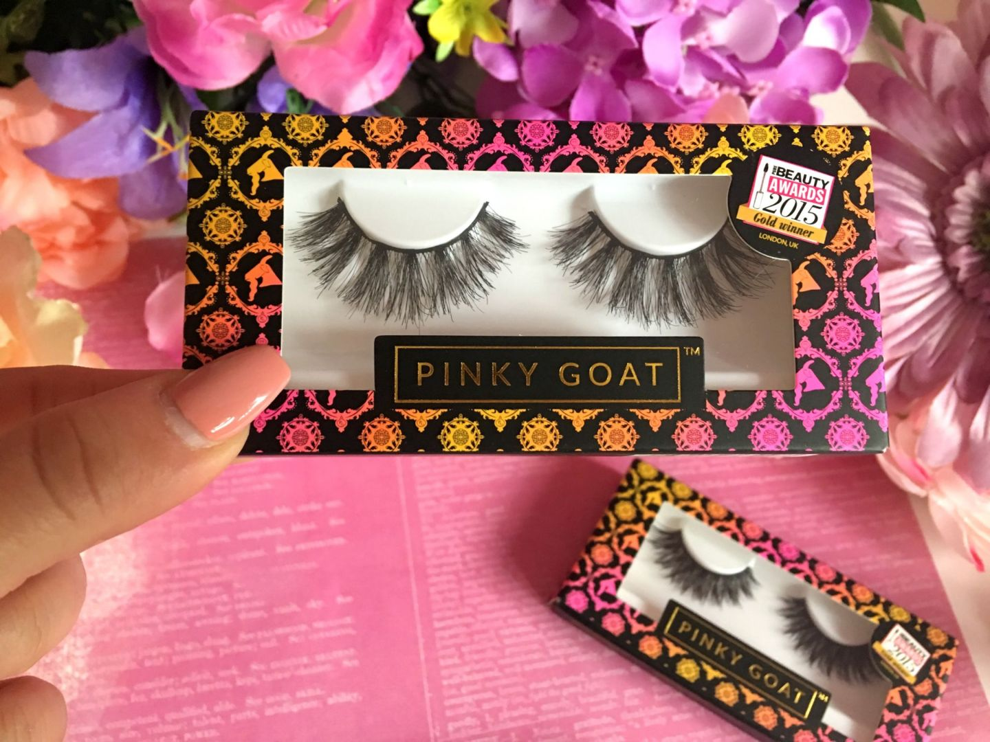 Pinky Goat Lashes (8)