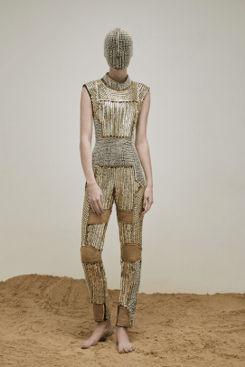 Yousef-Akbar-Gold-Beaded-Jumpsuit-Mask
