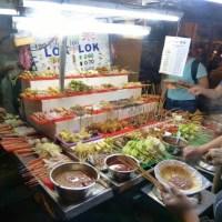 Penang: Night Street Hawkers @ Chulia Street