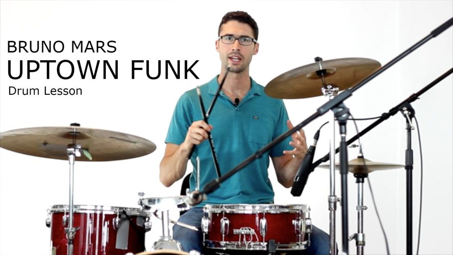 Uptown Funk Drums Sheet Music