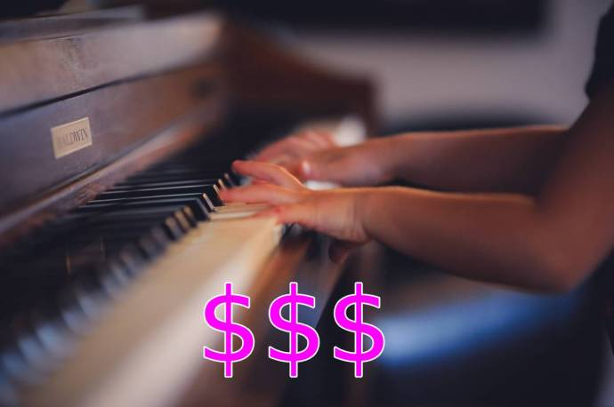 music lessons cost in Montreal