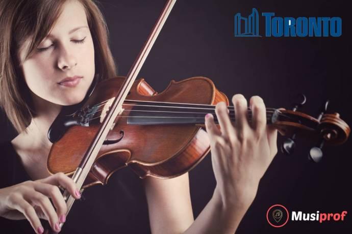 Violin lessons Toronto