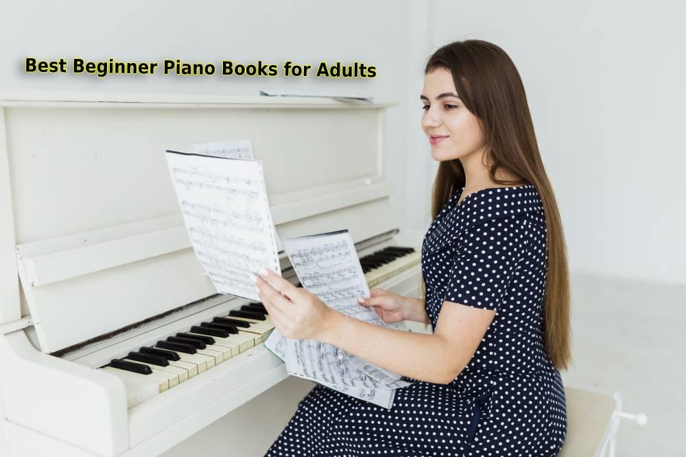 Imagen de portada de los mejores libros de piano para principiantes para adultos.
