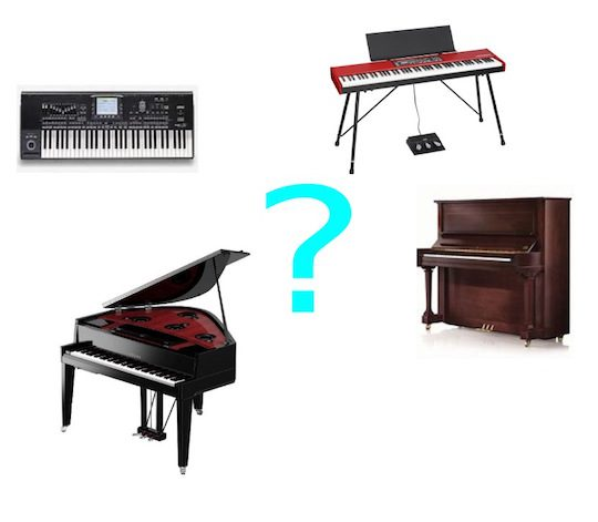 piano keyboard or hybrid?