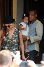 Bey, Jay and Ivy in Toronto 2013