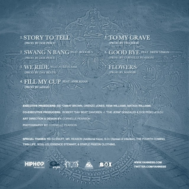 Enuff Presents YAHINESS Train Of Thought Tracklisting