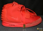 Kanye West RED NIKE AIR YEEZY 2