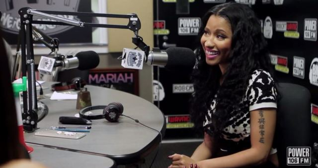 Nicki Minaj Exclusive Interview 106 FM Flawless Anaconda