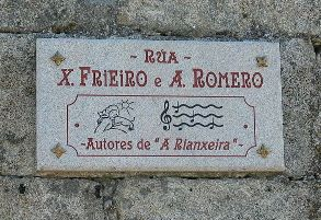 Partituras de tres canciones populares gallegas