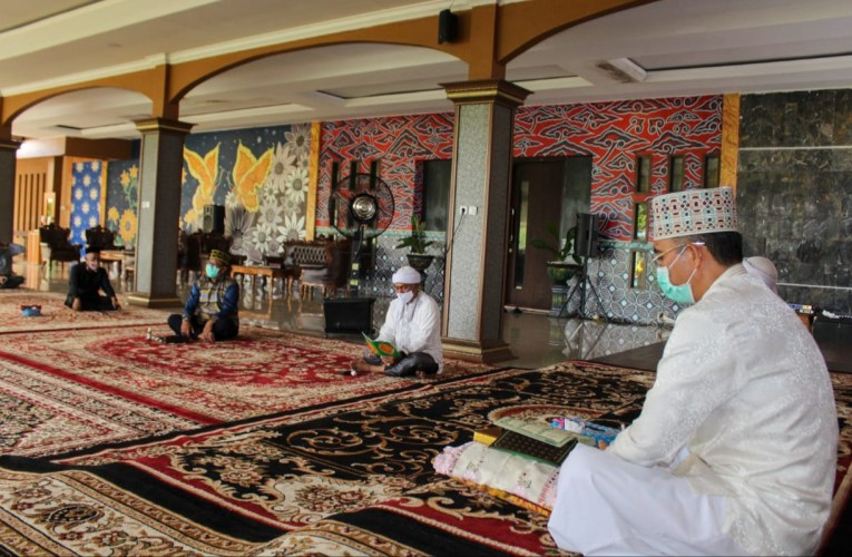 Khataman Qur'an, Bupati Ajak Kyai/Ustadz Berdoa Wabah Covid-19 Berakhir