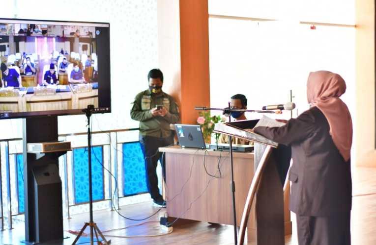 Paripurna DPRD, Wabup Sampaikan Jawaban Eksekutif Atas Pandangan Umum Fraksi