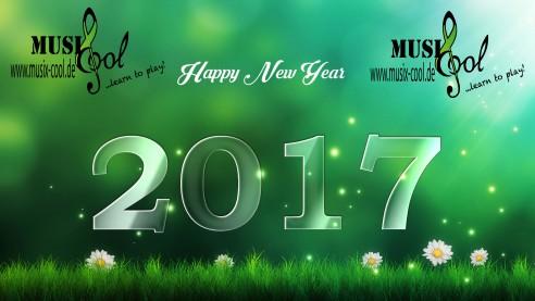 MusiXcool wünscht ein gutes neues Jahr 2017 !!!