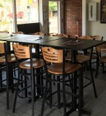 Muskellunge Brewing Company taproom bar in Canton Ohio