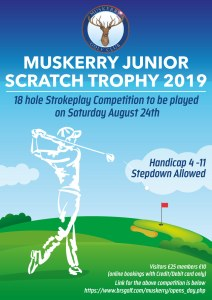 Junior Scratch Trophy