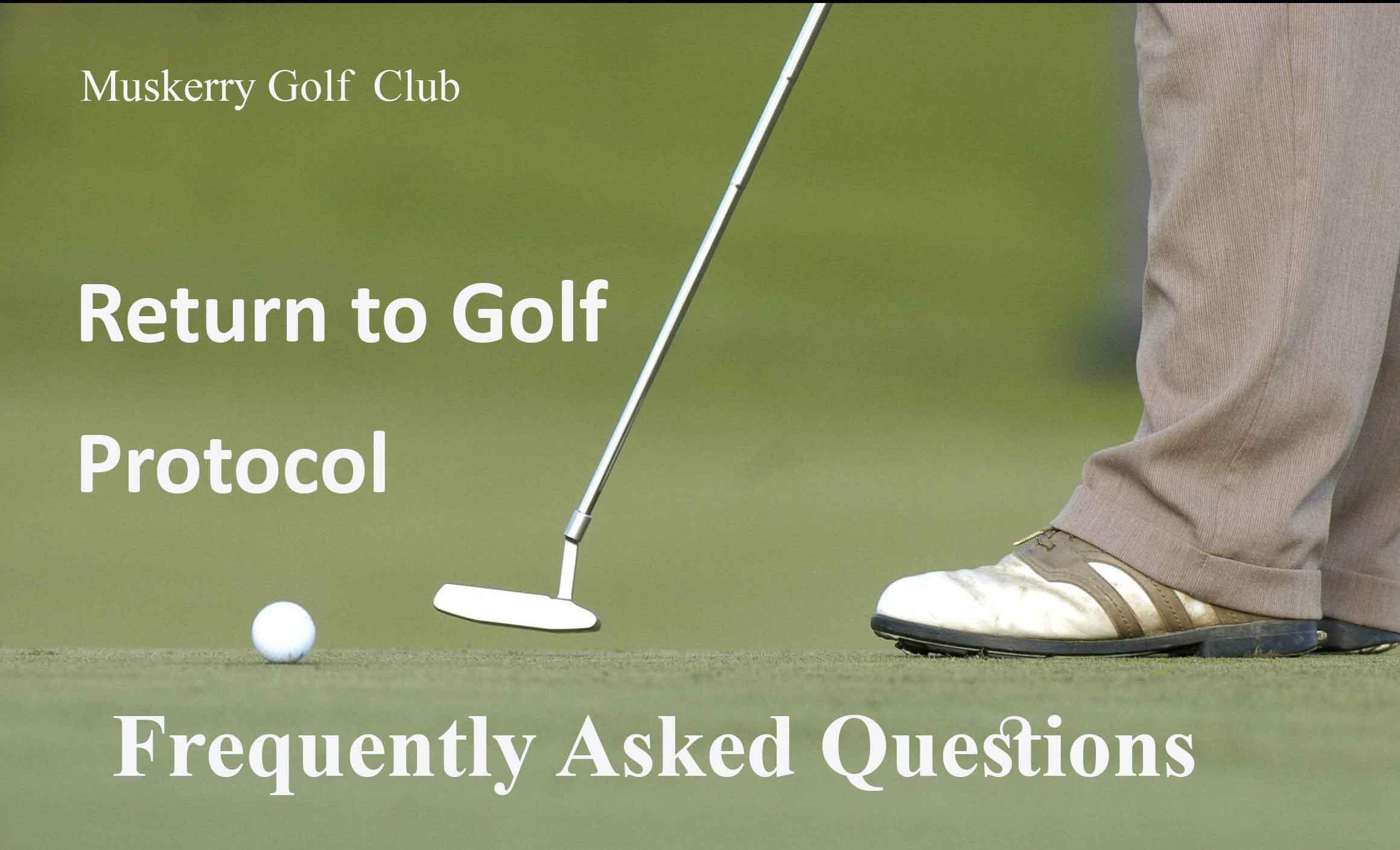 return to golf faq