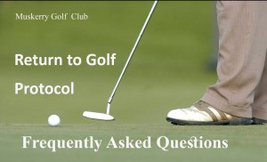 return to golf faq
