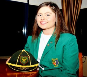 Jean O'Driscoll Irish senior cap 2014