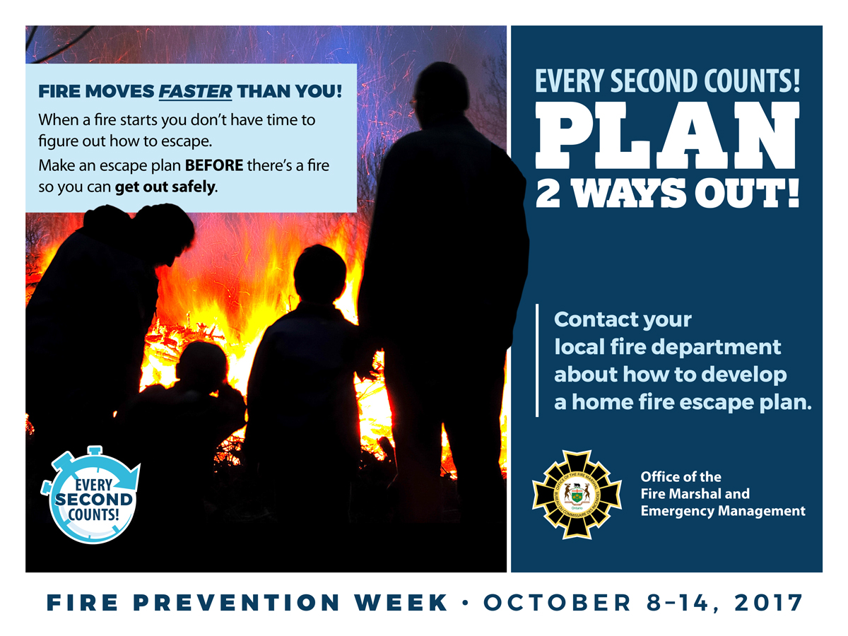 Practice Your Home Fire Escape Plan During Fire Prevention