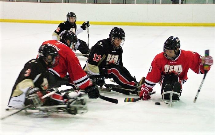 Ont  Winter Games sledge hockey in Gravenhurst - Muskoka Today