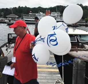 100-year boat balloons.