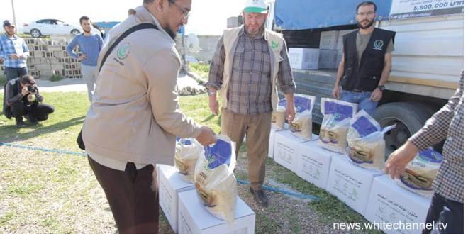 มมส ส่งมอบความช่วยเหลือช่วยเหลือผู้อพยพชาวซีเรีย