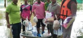 มมส. 3 จ.ระดมทีมช่วยเหลือชาวบ้าน จากอุทกภัยน้ำท่วม 3 จชต.