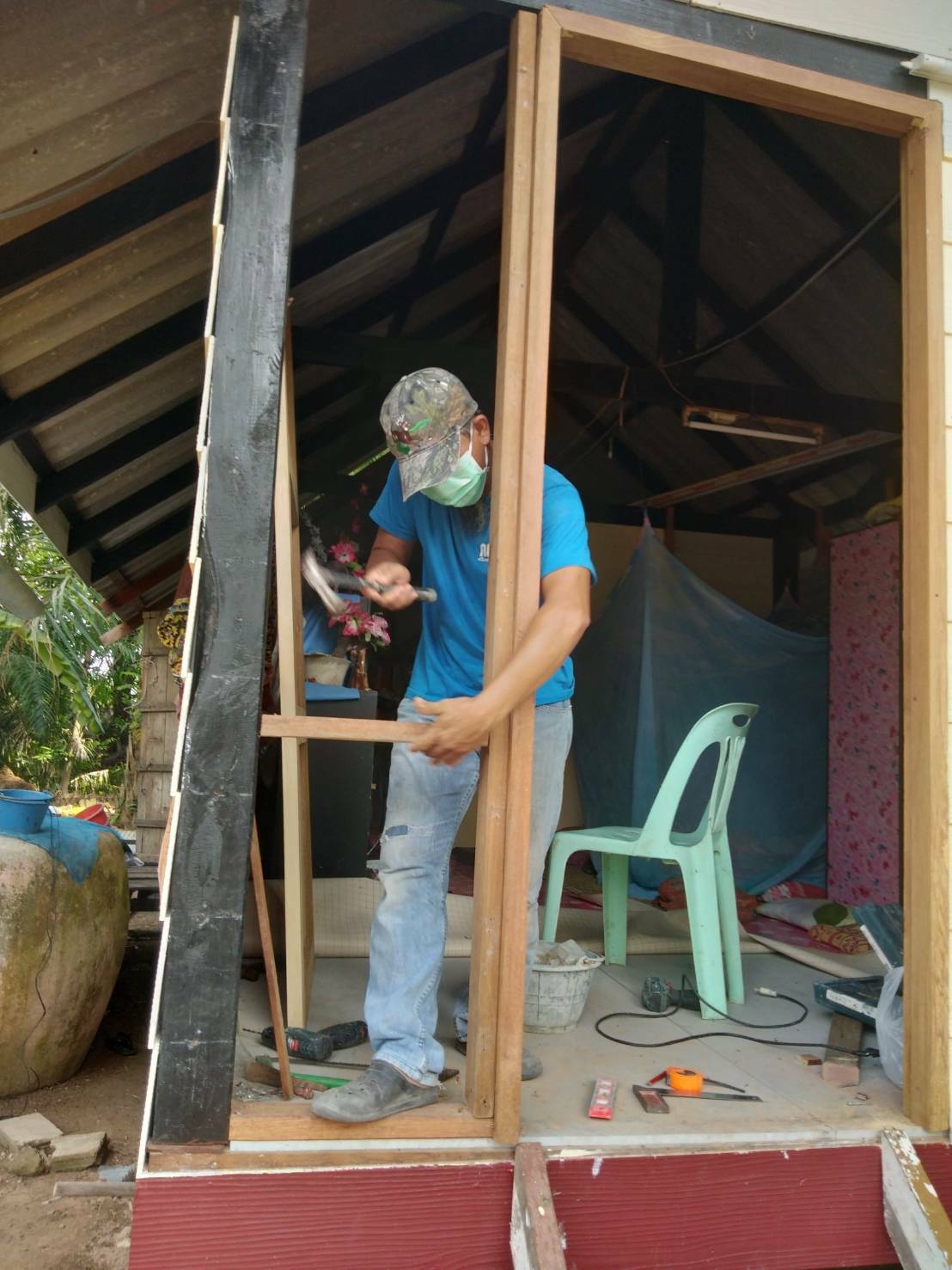 ประธานสั่งเร่งด่วน ซ่อมแซมบ้าน โดย มมส กระบี่