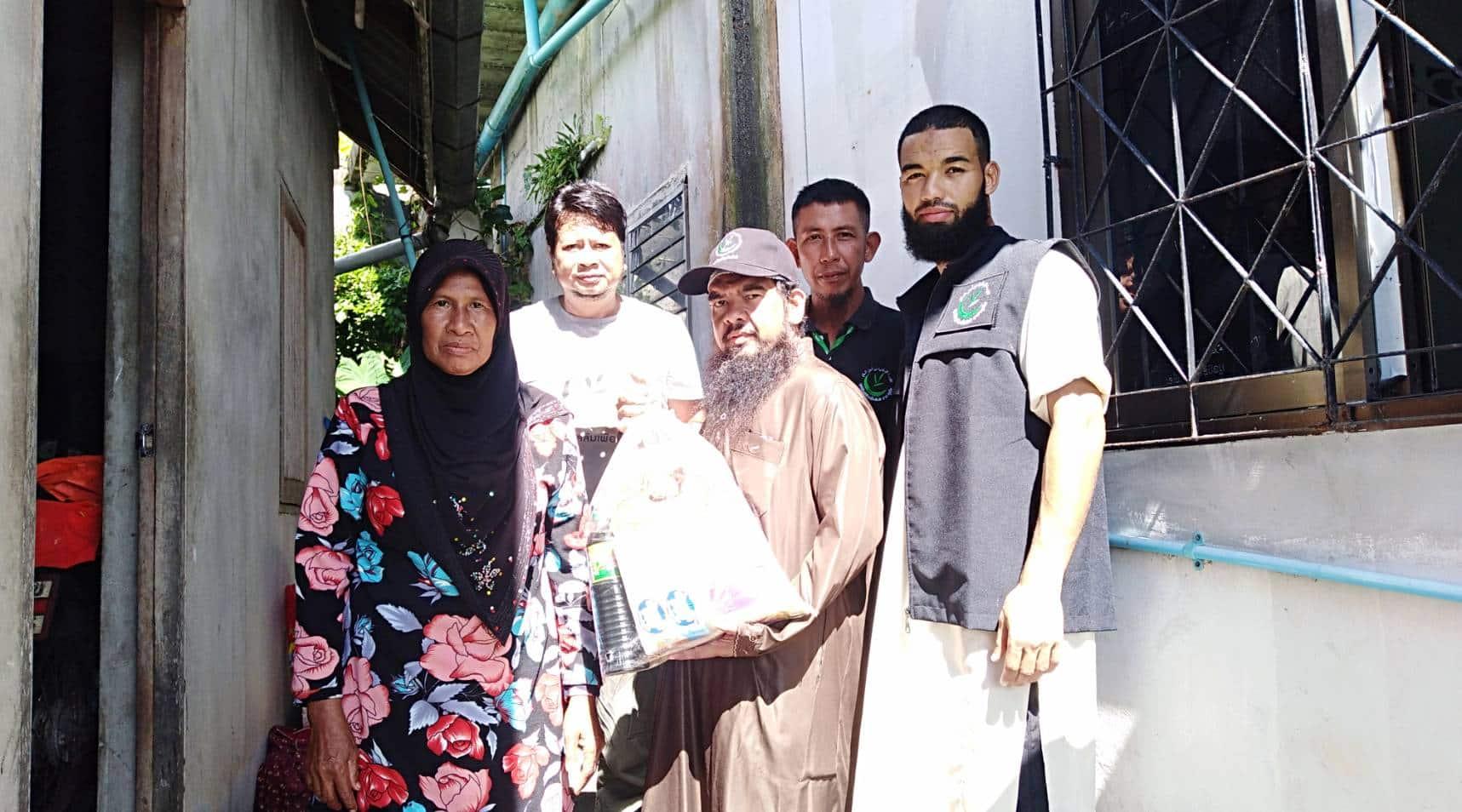 มูลนิธิมุสลิมเพื่สันติสาขาภูเก็ต ลงพื้นที่ช่วยเหลือครอบครัวยากไร้