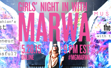 You're Invited to a Girls' Night In With Marwa Atik of Vela Scarves