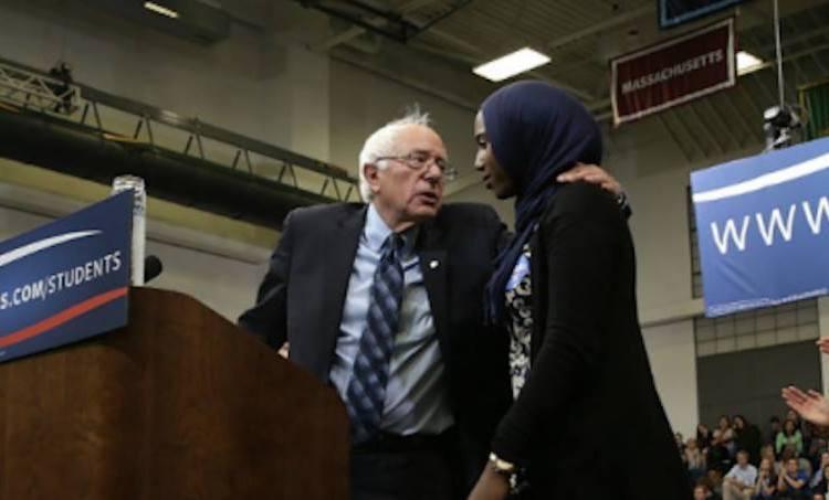 Bernie Sanders Learns Muslims Give Best Hugs
