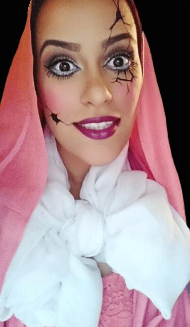 Make Up Halloween Simple Hijab.Last Minute Makeup Looks To Save Your Halloween Muslim Girl