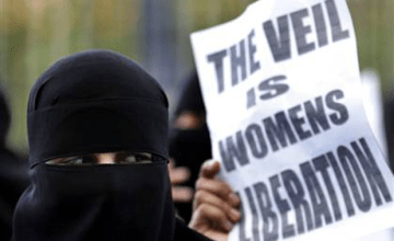 The 'Nudity' of Westernized Feminism