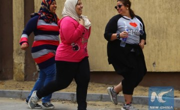 Egypt Holds its First Plus-Sized Marathon