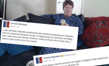 """Scotland Grandma Loses Her Job After Saying She'd """"Blow the Black Faces Off"""" of Muslims"""
