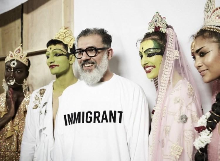 Ashish Gupta's Latest Fashion Show Flips Anti-Immigrant Sentiments
