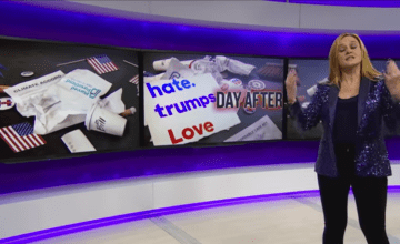 Watch Samantha Bee Drop the Mic on the Post-Election Drama