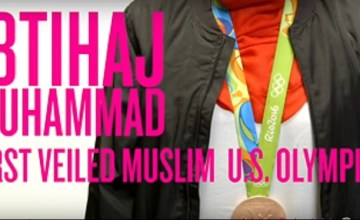 Muslim Olympian Ibtihaj Muhammad Takes Jab at Trump in Funny PSA