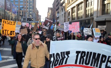 Highlights from Baltimore Trump Protest: Our Favorite Chants & Signs