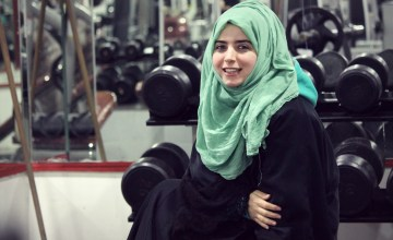 This Muslim Woman Moved to Palestine to Study at University