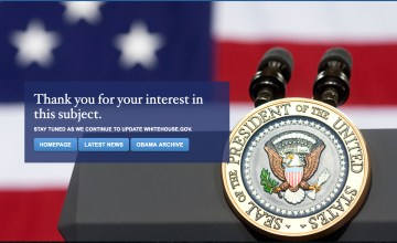 Spanish Translation of White House Site Has Been Removed
