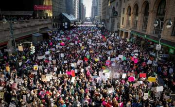 Women's March Largest In U.S. History As Millions Rally Nationwide