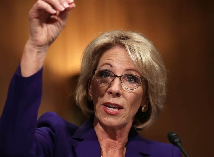Pence's Tiebreaker Makes Betsy DeVos Education Secretary
